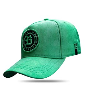 Boné Snapback Follow Suede Green Lemon