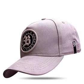 Boné Snapback Follow Suede Grey Clear