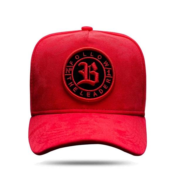 Boné Snapback Follow Suede New 2.0 Red