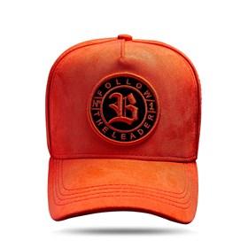 Boné Snapback Follow Suede Orange 2.0