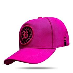 Boné Snapback Follow Suede Pink 2.0