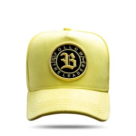 Boné Snapback Follow Suede Yellow Light 2.0