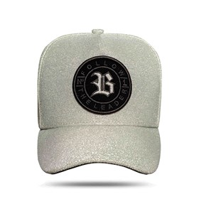 Boné Snapback Follow Super Shine Silver