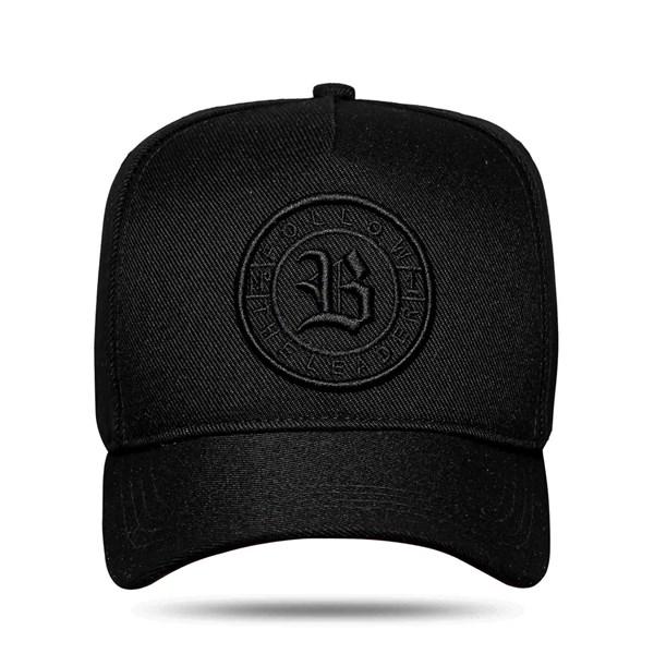 Boné Snapback Follow The Leader All Black 2.0