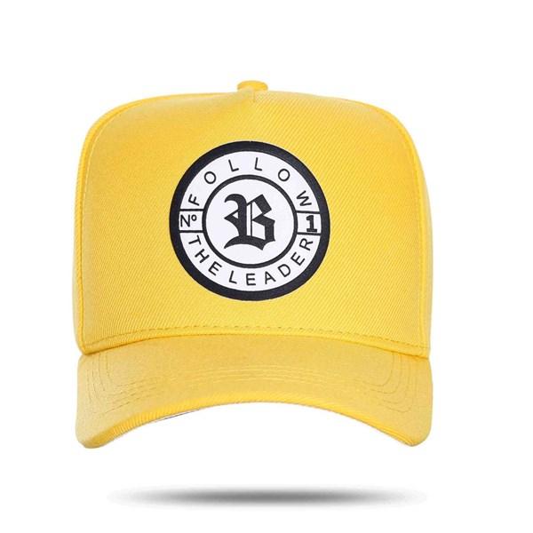 Boné Snapback Follow The Leader Yellow