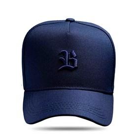 Boné Snapback Logo Basic All Blue Dark