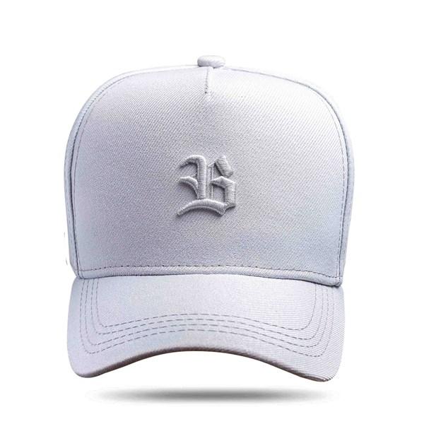 Boné Snapback Logo Basic All Grey Clear
