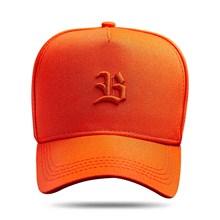 Produto Boné Snapback Logo Basic All Orange