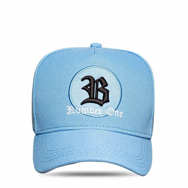 Boné Snapback Logo Circle Black Blue