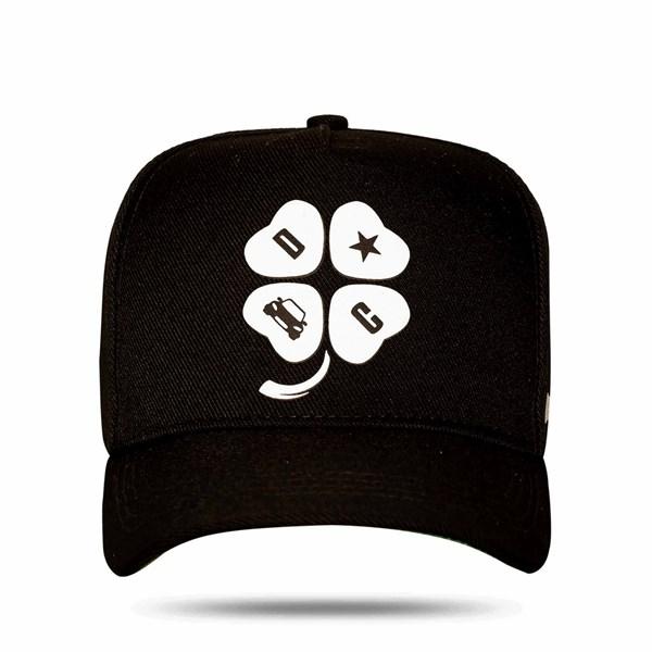 Boné Snapback Logo Danilo Black