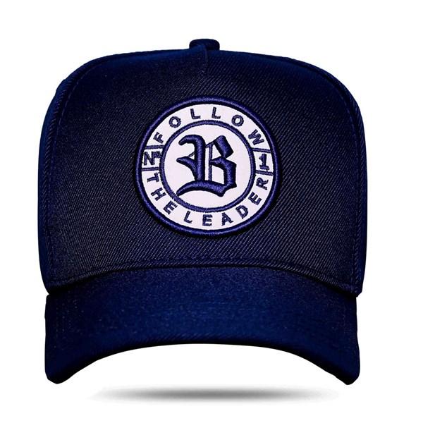 Boné Snapback Logo Follow Blue