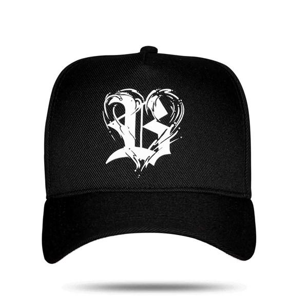 Boné Snapback Logo Heart Black
