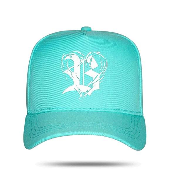 Boné Snapback Logo Heart Green Water