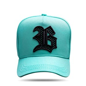 Boné Snapback Logo Sport Screen Green Water