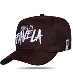 Boné Snapback Made In Favela Brown