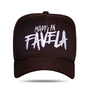 Boné Snapback Made In Favela Brown