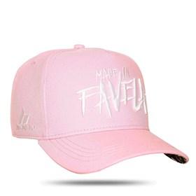 Boné Snapback Made In Favela Pink