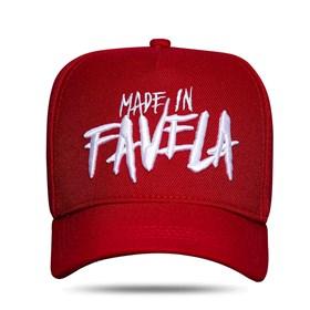 Boné Snapback Made In Favela Red