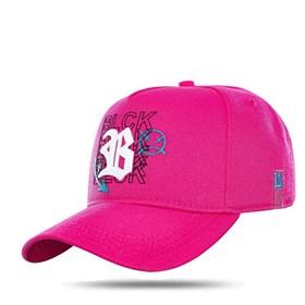 Boné Snapback Metal Contour Pink