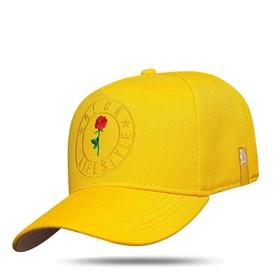 Boné Snapback My Life Style Yellow