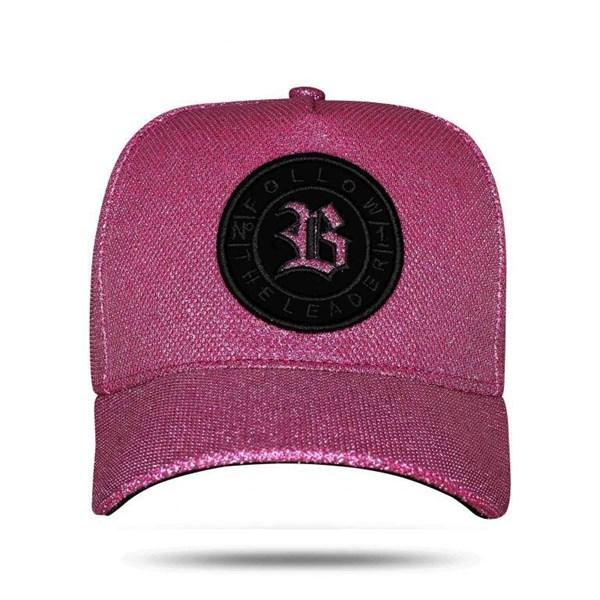 Boné Snapback Nº1 Shine Pink
