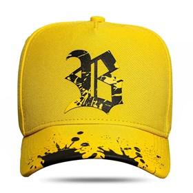 Boné Snapback New Aba Resping Yellow Black