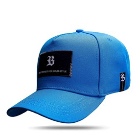 Boné Snapback New Square Blue