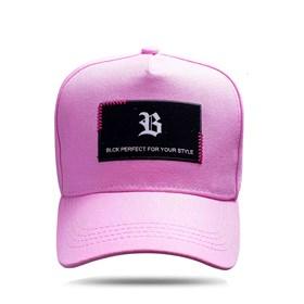 Boné Snapback New Square Pink