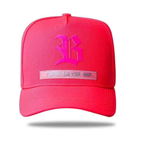 Boné Snapback Perfect Fluor Pink