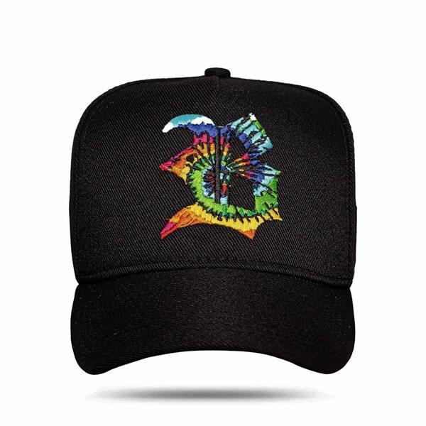 Boné Snapback Spiral Black