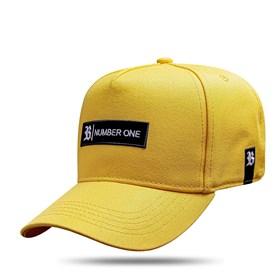 Boné Snapback Tag Number One Amarelo