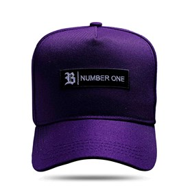 Boné Snapback Tag Number One Roxo