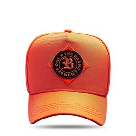 Boné Snapback The Brand Orange Logo Black