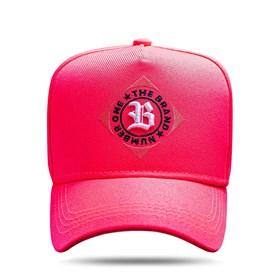 Boné Snapback The Brand Pink Flúor