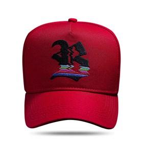 Boné Snapback Vermelho Logo No Signal