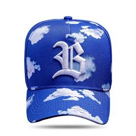Boné Snapback Voe Azul Royal