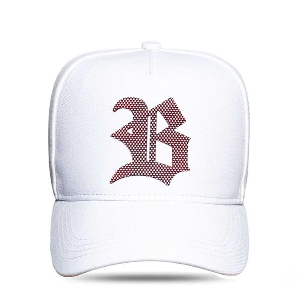 Boné Snapback White Logo 3D