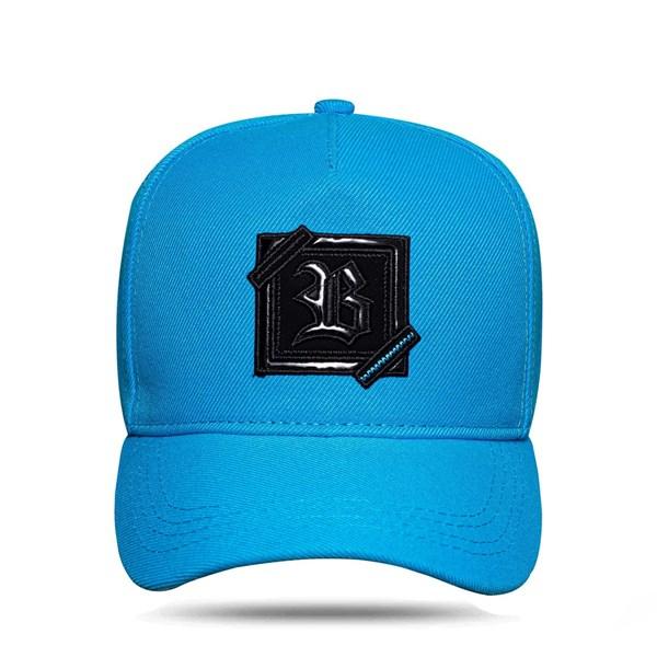 Boné Snapback ZigZag Fluor Blue Miami