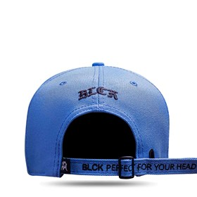 Boné Strapback All Blue Clear Logo Black Shadow 3D