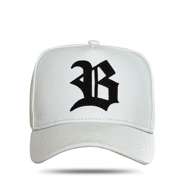 Boné Strapback All Grey Logo Suede