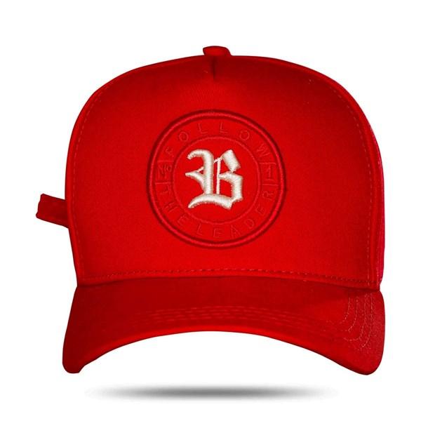 Boné Strapback Follow Logo Red