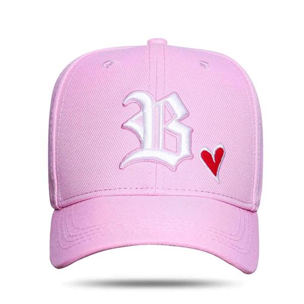 Boné Strapback Heart Pink