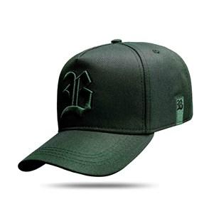 Boné Strapback New All Green Dark