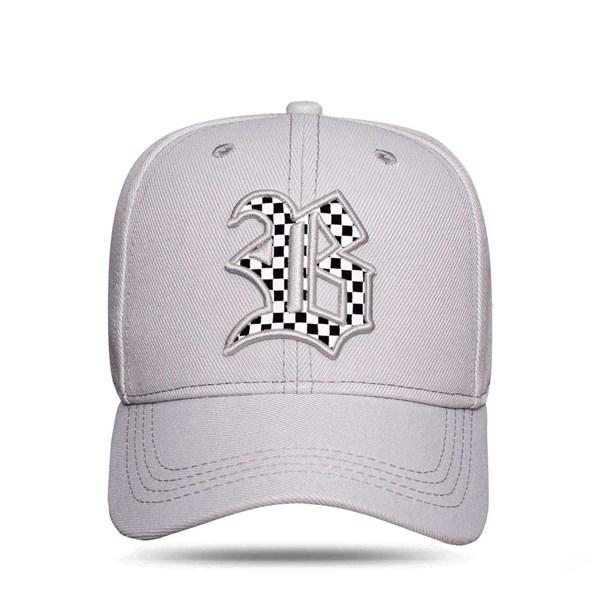 Boné Strapback Race Grey