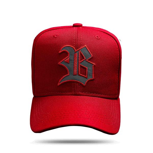 Boné Strapback Red Logo Reflected