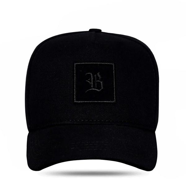 Boné Strapback Square All Black