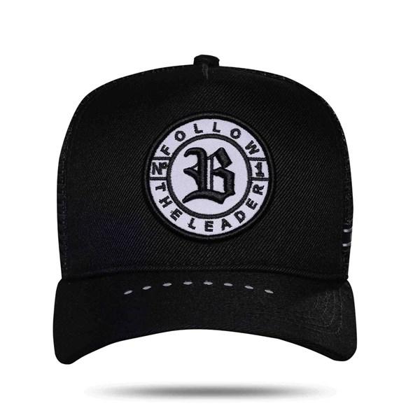 Boné Trucker Follow Reflective Black