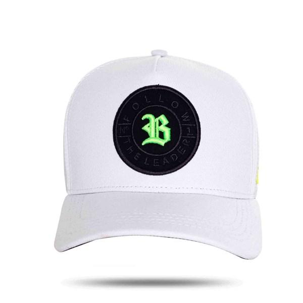 Boné Trucker Number Green White