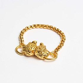 Bracelete Tiger Dourado