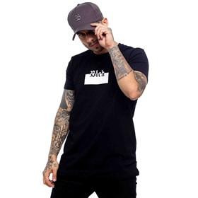 Camiseta All Black Logo Silk White Black